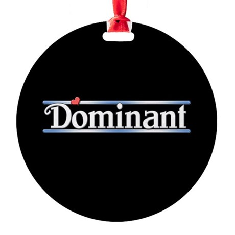 Dominant Round Ornament