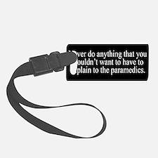 Paramedics Luggage Tag