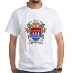 MacOstrich Coat of Arms White T-Shirt
