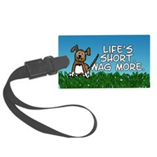 Wag More Luggage Tag