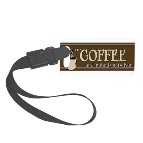 Coffee Small Luggage Tag