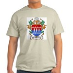 MacOstrich Coat of Arms Ash Grey T-Shirt