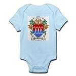 MacOstrich Coat of Arms Infant Creeper