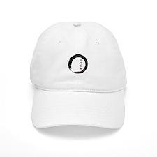"Enso Open Circle with ""Artist"" Calligraphy Baseball Cap"