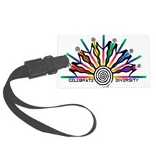 Celebrate Diversity Luggage Tag