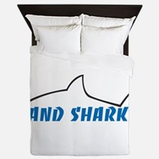 Land Shark Queen Duvet