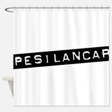 Pesilancar Shower Curtain