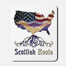 American Scottish Roots Mousepad