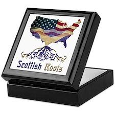 American Scottish Roots Keepsake Box