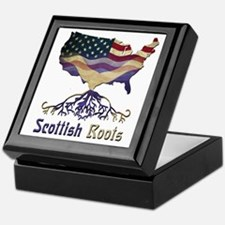 American Scottish Roots Keepsake Box