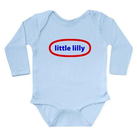 Little Lilly Long Sleeve Infant Bodysuit