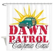 CADawnPatrol10.png Shower Curtain