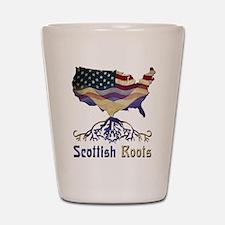 American Scottish Roots Shot Glass