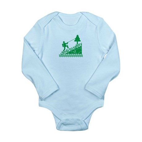 Don't Panic Climb to Safety Long Sleeve Infant Bod
