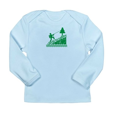 Don't Panic Climb to Safety Long Sleeve Infant T-S