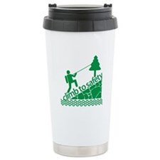 Don't Panic Climb to Safety Travel Mug