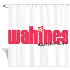HIWahines10.png Shower Curtain