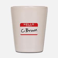 C.Brown Shot Glass