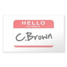 C.Brown Decal
