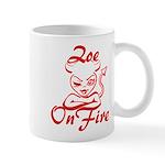 Zoe On Fire Mug