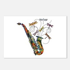 Wild Saxophone Postcards (Package of 8)