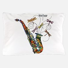 Wild Saxophone Pillow Case
