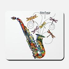 Wild Saxophone Mousepad