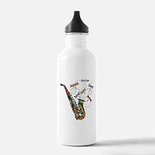 Wild Saxophone Water Bottle