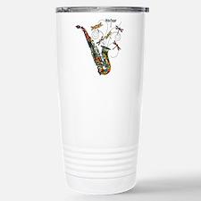 Wild Saxophone Travel Mug