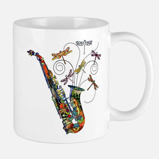 Wild Saxophone Mug