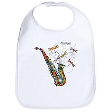 Wild Saxophone Bib