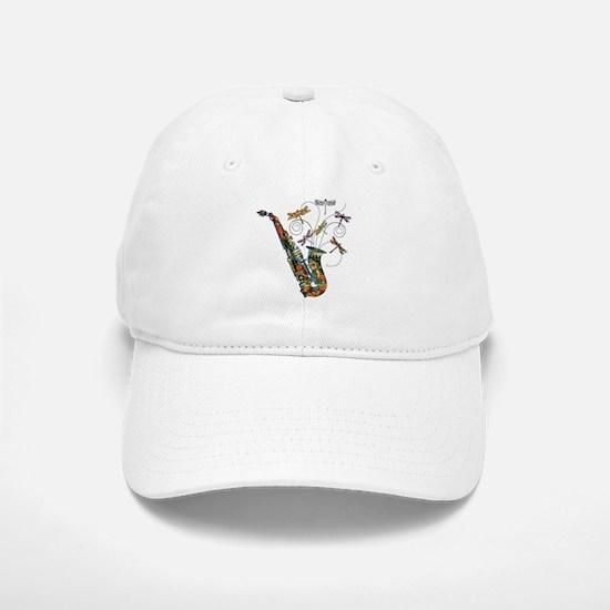 Wild Saxophone Baseball Baseball Cap