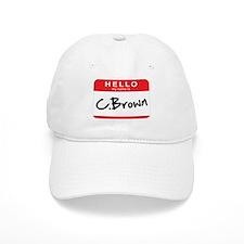 C. Brown Baseball Cap