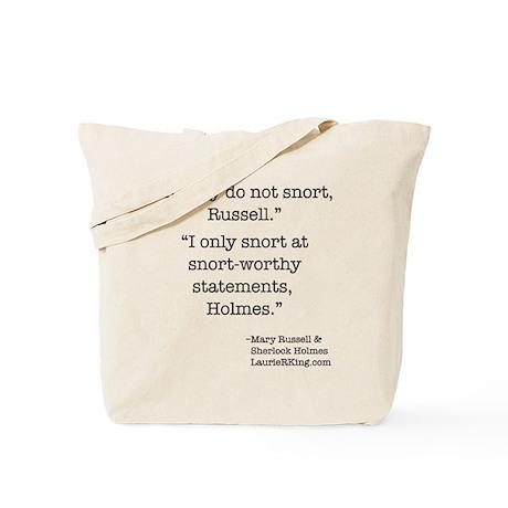 Snort-worthy Tote Bag