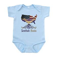 American Scottish Roots Infant Bodysuit