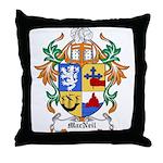 MacNeil Coat of Arms Throw Pillow