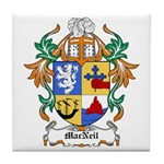 MacNeil Coat of Arms Tile Coaster