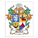MacNeil Coat of Arms Small Poster