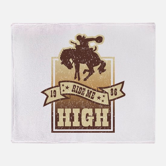 Ride Me High Throw Blanket