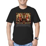 The Saints of Beer Men's Fitted T-Shirt (dark)