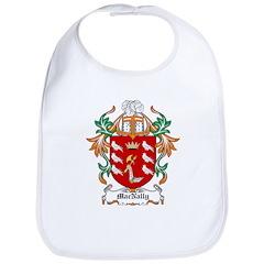 MacNally Coat of Arms Bib