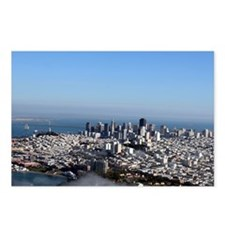 Aerial San Francisco Postcards (Package of 8)
