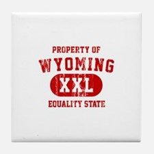 Property of Wyoming, Equality State Tile Coaster