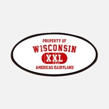 Property of Wisconsin, Americas Dairyland Patches