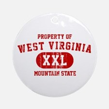 Property of West Virginia, Mountain State Ornament