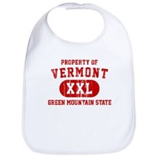 Property of Vermont, Green Mountain State Bib