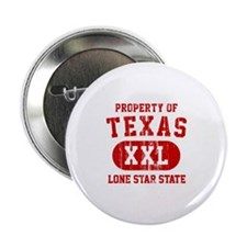 """Property of Texas, Lone Star State 2.25"""" Button"""