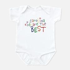 Carolina Kids Are The Best Infant Bodysuit