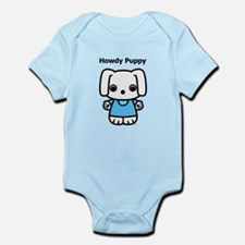 Howdy Puppy Dual-Sided Infant Bodysuit