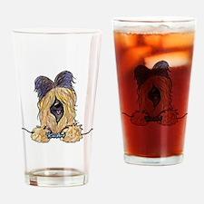Pocket Briard Drinking Glass